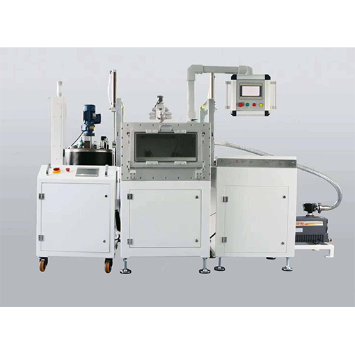 Two component glue filling machine
